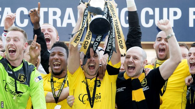 Livingston win Challenge Cup