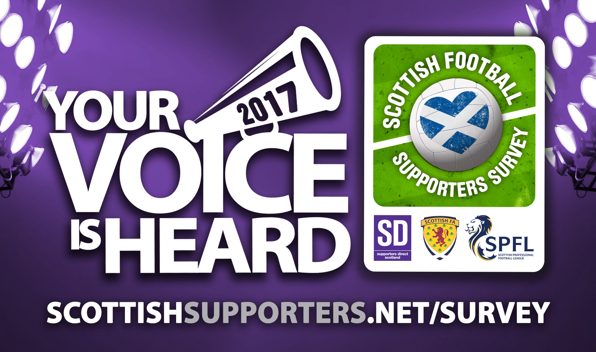 Complete the 2017 Scottish Football Supporters Survey
